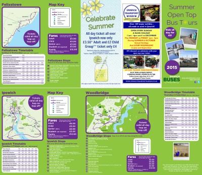 Ipswich Summer Open Top Tours 2015