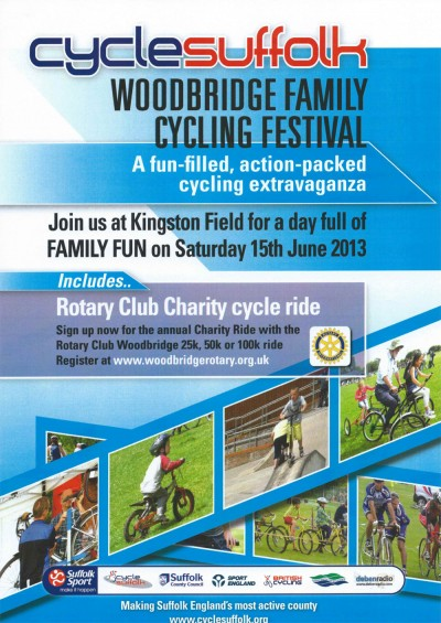 Woodbridge Family Cycling Festival 2013